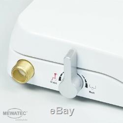 MEWATEC Marken Dusch-WC Aufsatz Nevada nichtelektronisch