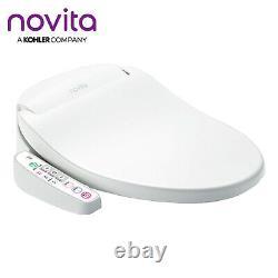 NOVITA BD-N330T Compact Bidet Electric Toilet Seat Stainless Nozzle 220V