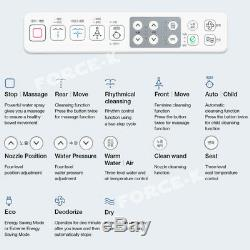NOVITA BD-N550A Smart Digital Bidet Seat Toilet Deodorization Dryer Air Bubble