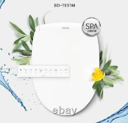 NOVITA BD-TE91M Smart Digital Bidet Seat Dryer Heater Spa IPX5 220V