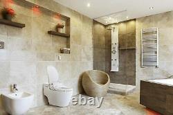 New Bio Bidet Slim Two Smart Toilet Seat in Elongated White with Wireless Remote