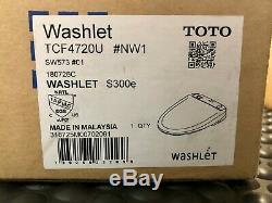 New Toto Washlet S300e Round White SW573#01 Toilet Bidet Seat CottenWhite SW573