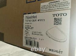 New Toto Washlet S550e Elongated Bidet Toilet Seat SW3054 #01 Cotton White
