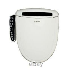 OZBOLEMI Bidet For Toilet Seat Heated Seat LED NightLight Round Warm Air Dryer