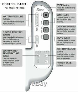 PASECO ELECTRONIC TOILET SEAT BIDET PB-X800 (110V) For US
