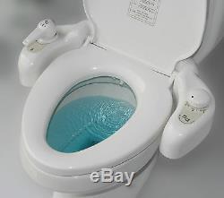 Premium EUREKA Non-electrc BIDET EB-3500W Hot BATHROOM TOILET SEAT Safe SPRAYER