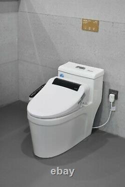 Purette Bidet Smart Toilet Seat, the Original, Water Spray, Air Dry, Seat Heater