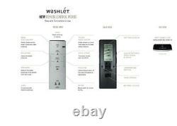 S300e WASHLET Electric Bidet Seat for Round Toilet with EWATER+ in Cotton White