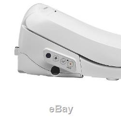 SmartBidet SB-100R Electric Bidet Toilet Seat for Elongated Toilets Remote-Refur