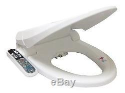 SmartBidet SB-2000 Electric Bidet Warm Toilet Seat for Round Toilets White