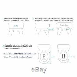 SmartBidet White Electric Bidet Seat with Wireless Remote White