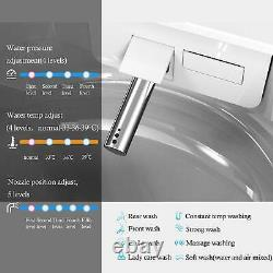 Smart Bidet Toilet with Auto Flush Massage Washing & Heated Seat Remote Control