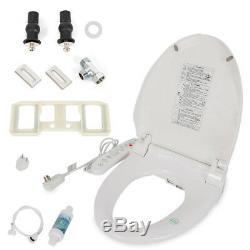 Smart Digital Bidet Seat Toilet Power Saving Dryer Heated Anti-bacterial Massage