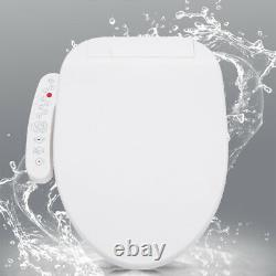 Smart Electric Bidet Toilet Seat Heated Seat Warm Water Self-cleaning Air Dryer