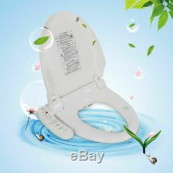 Smart Electric Bidet Warm Toilet Seat for Elongated Toilets -Double Nozzles USA