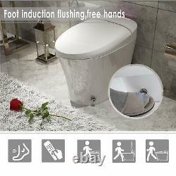 Smart Toilet, Massage Washing, Auto Flush, Heated Seat Multi Remote Control Bidet