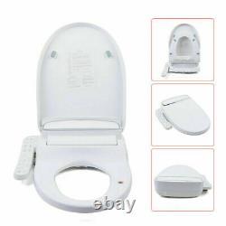 Smart Toilet Seat Bidet Warm Air Dryer Elongated Heat Clean Dry Movable HOT SALE