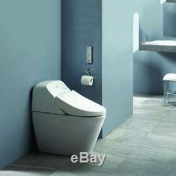 TOTO 1.28 GPF & 0.9 GPF Toilet with Bidet Seat (Cotton White) MS920CEMFG-01 New