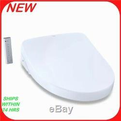 TOTO S550E WASHLET Electronic Bidet Elongated Toilet Seat White R1