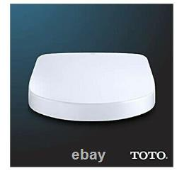 TOTO S550e Washlet electric bidet seat for elongated toilet with classic lid