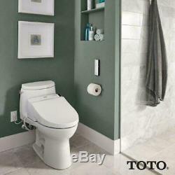 TOTO SW2024#01 A200 Washlet Electronic Bidet Elongated Toilet Seat SoftClose Lid
