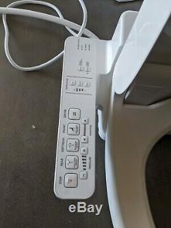 TOTO SW2034#01 WASHLET Electronic Bidet Toilet Seat, Elongated, Cotton White