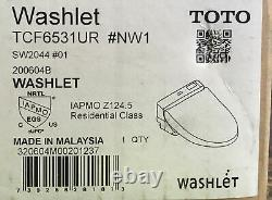 TOTO SW2044#01 C200 Elongated Closed Front Toilet Seat with Lid and Washlet OBN
