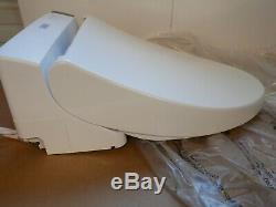 TOTO SW2044#01 C200 WASHLET Electronic Bidet Toilet Seat, Elongated, White read