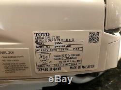 TOTO SW3046#01 S500E WASHLET Elongated Electronic Bidet Toilet Seat