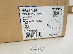 TOTO SW3046#01 S500e WASHLET Electronic Bidet Toilet Seat