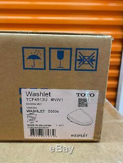 TOTO SW3054# WASHLET S550e Classic Elongated Toilet Seat Bidet