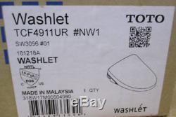 TOTO SW3056#01 S550e WASHLET Electronic Bidet Toilet Seat Contemporary Elongated