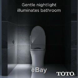 TOTO SW3056#01 S550e WASHLET Electronic Bidet Toilet Seat with EWATER+ and Au