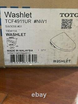TOTO SW3056-01 S550e Washlet Elongated Bidet Toilet Seat with ewater Cotton