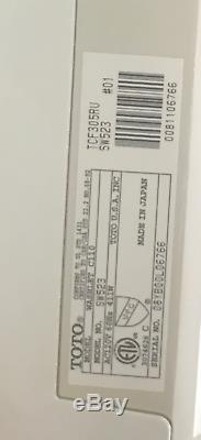 TOTO SW523-01 Washlet C110 Round Front Toilet Seat, Bidet