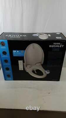 TOTO T1SW2024#01 White Automated Washlet Bidet Toilet Seat For Elongated Toilets