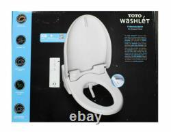 TOTO T1SW2024 White Automated Washlet Bidet Toilet Seat Elongated