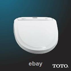 TOTO WASHLET+ S350e Bidet Toilet Seat SW583 Heated Seat/Auto Open/Close Lid