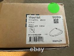 TOTO WASHLET + S350e Elongated Bidet Toilet Seat + Remote