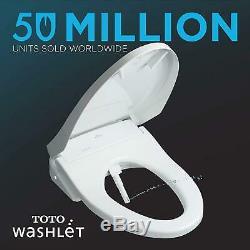 TOTO Washlet SW584T20#01 S350e Bidet Toilet Seat with ewater+ (Cotton White)