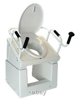 Throne Buttler Powered Toilet Lift Chair With Bidet Seat