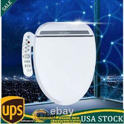 Toilet Seat Electric Smart Auto Bidet Deodorization Elongated Heated+Twin Nozzle
