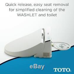 Toto SW2043R White C200 Round Closed Bidet Seat