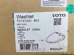 Toto SW573#12 WASHLET S300e Electronic Bidet Toilet Seat with ewater