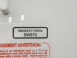 Toto SW573#12 WASHLET S300e Electronic Bidet Toilet Seat with ewater ROUND