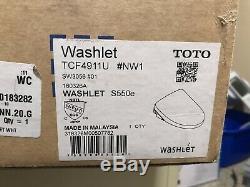 Toto WASHLET Electronic Bidet Toilet Seat SW3056#01 Elongated Modern White