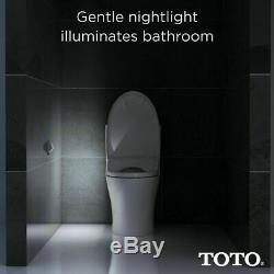 Toto WASHLET S550e Electronic Bidet Toilet Seat with EWATER