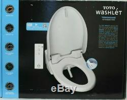 Toto Washlet Bidet Elongated Electric Toilet Seat withRemote Heated T1SW2024#01