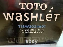 Toto Washlet Easy Install Electric Elongated Bidet Toilet Seat
