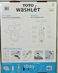 Toto Washlet Easy Install Electronic Elongated Bidet Toilet Seat Opened Box